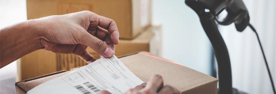 Envoi de courrier